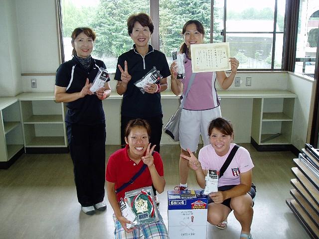 09宇都宮クラブ対抗テニス大会準優勝